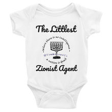 The Littlest Zionist Agent Infant Bodysuit