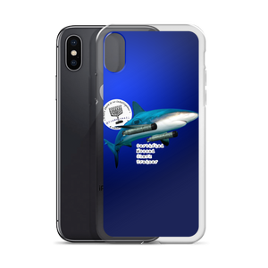 Certified Mossad Shark Trainer iPhone Case