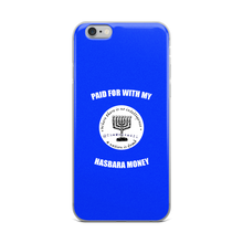Paid For With My Hasbara Money iPhone Case