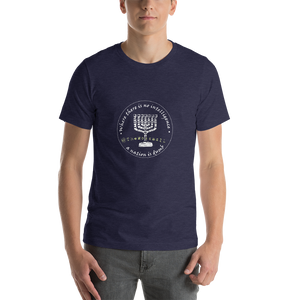 TheMossadIL Transparent Logo Short-Sleeve Unisex T-Shirt