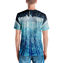 Blue & White Series Men's T-shirt