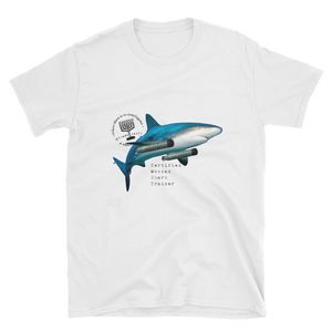 """Certified Mossad Shark Trainer"" Short-Sleeve Unisex T-Shirt"