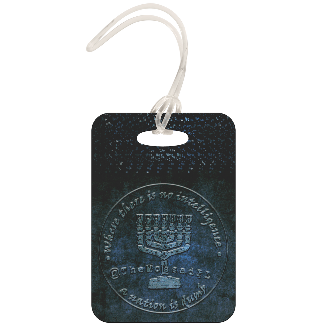TheMossadIL Luggage Tag