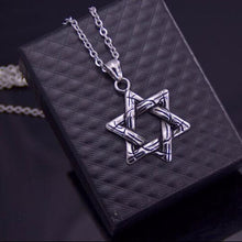 Men's Jewish Star Pendant