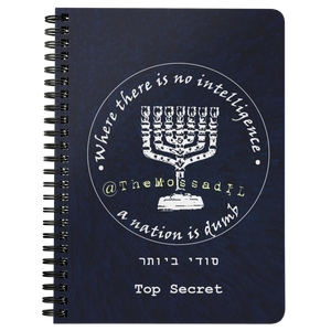 Spiral Top Secret Journal