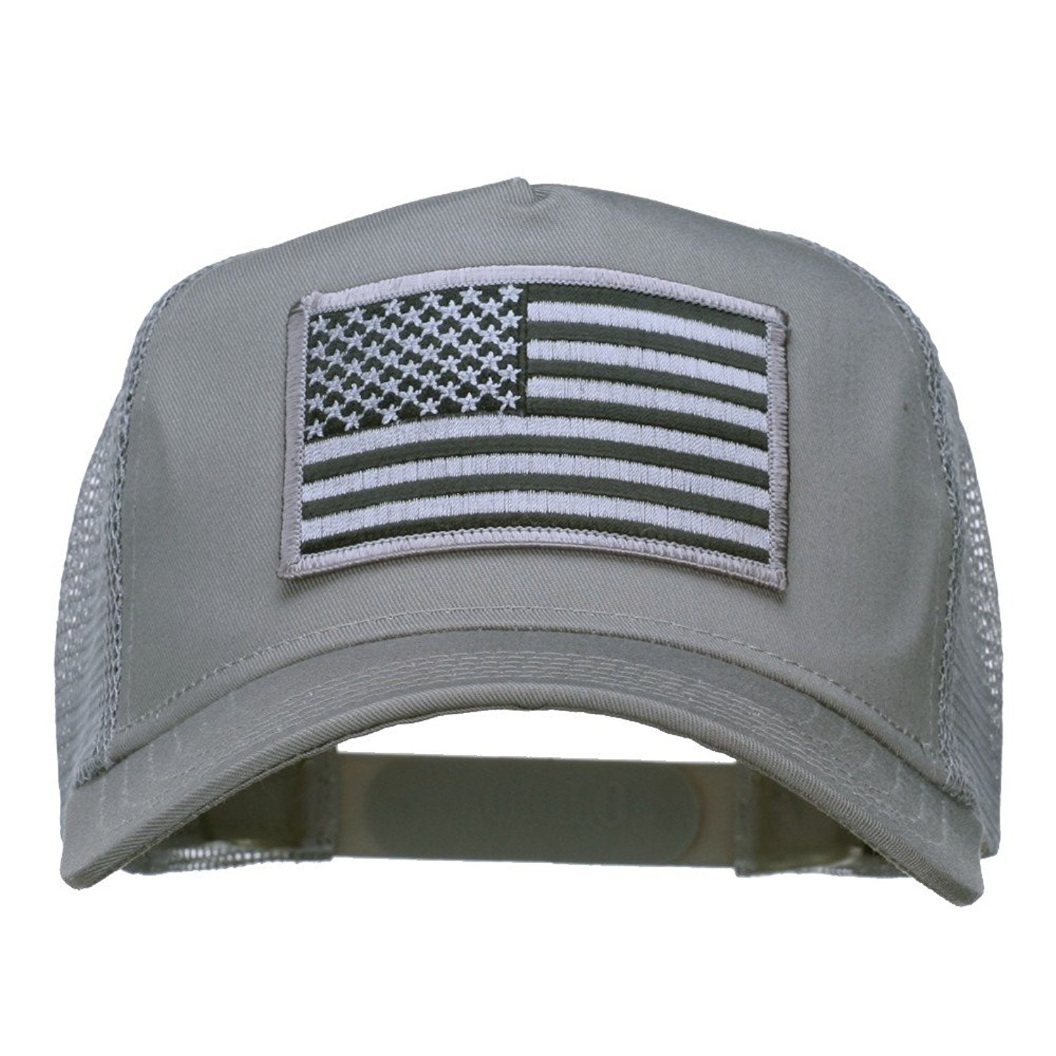 American Flag Patch Snapback Hat