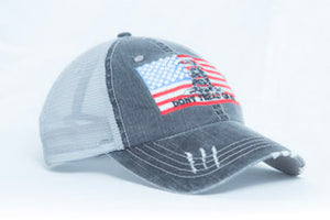 Don't Tread On Me American Flag Trucker Hat