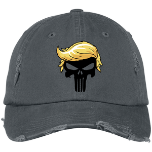 Vintage Punisher Trump Hair Hat