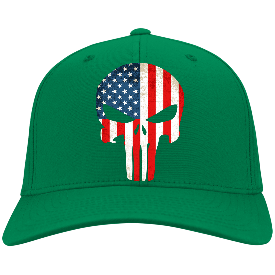 American Flag Punisher Hat