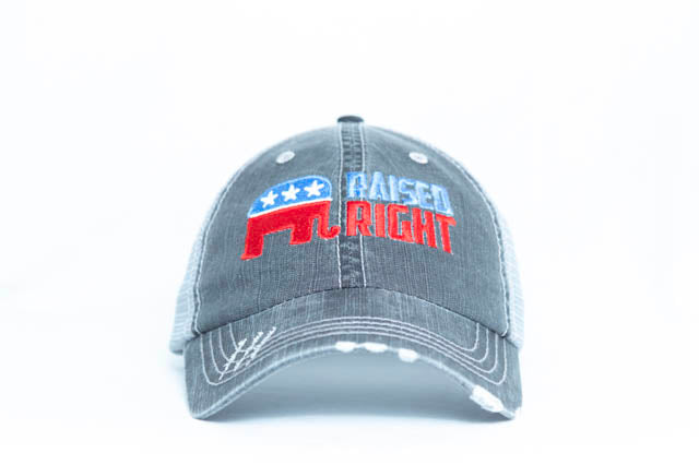 Raised Right Unstructured Trucker Hat