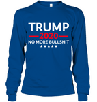 TRUMP 2020: No More BS Long Sleeve