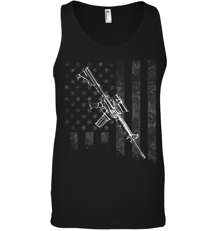 American Flag, Rifle Edition t-shirt