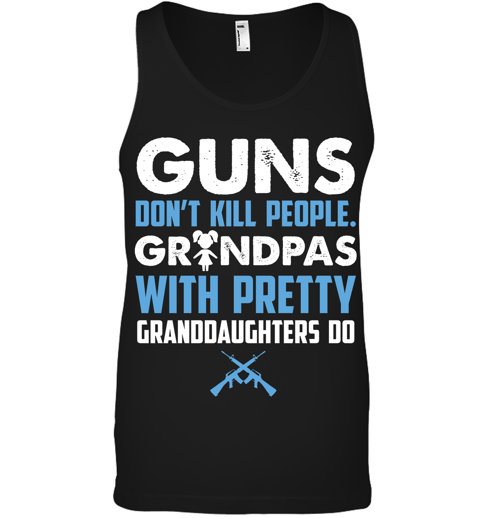 Guns don't kill people, Grandpas with pretty G'daughters do