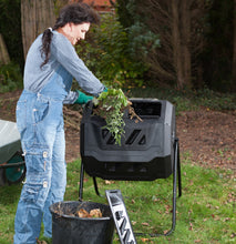 160L Dual Chamber Compost Tumbler. Save $60!