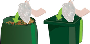 7L Compostable Bin Liners (x20)