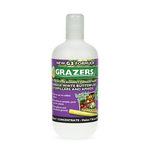 Grazers G3 - White butterflies and caterpillar repellent garden formula