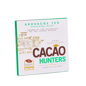Barras de Chocolate Negro Libro Heirloom