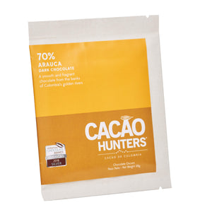 Barra de Chocolate Negro Arauca 70%