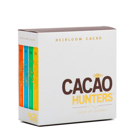 Kit de Chocolate Negro Libro Heirloom