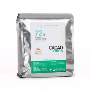 Barra de Chocolate Negro Arhuacos 72%