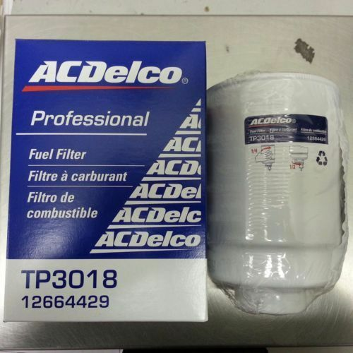 ac delco tp3012 tp3018 12664429 12646512 duramax 6 6 fuel filter new oem