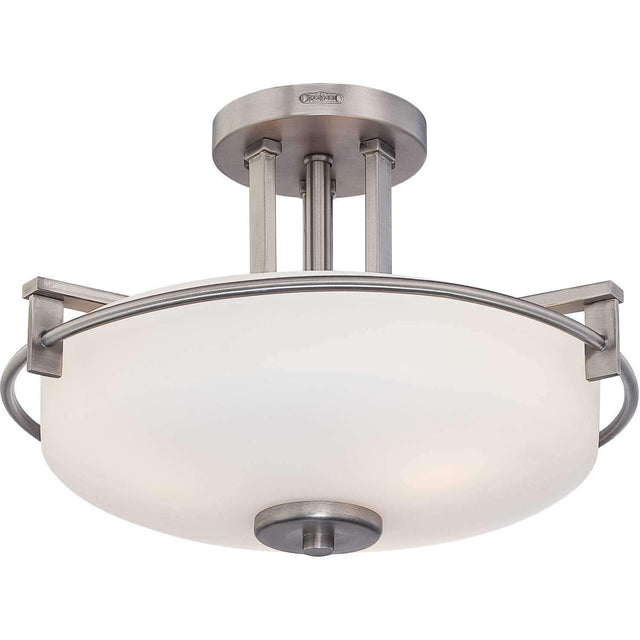 "Acker 16.5"" Wide Semi-Flush Mount"