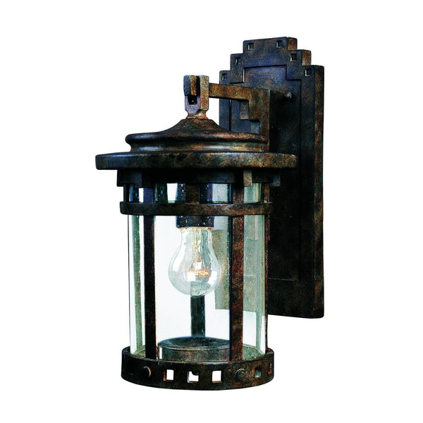 "Almanor 10"" Tall Wall Lantern - Sienna"
