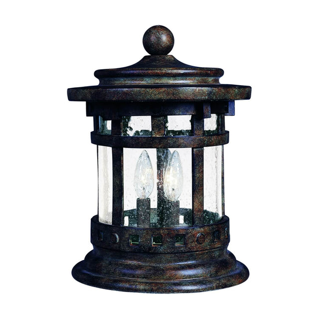 "Almanor 12.5"" Tall Deck Lantern - Sienna"