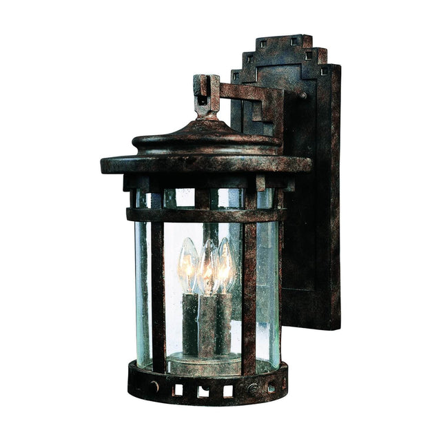 "Almanor 16"" Tall Wall Lantern - Sienna"