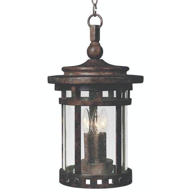 "Almanor 17.5"" Tall Outdoor Pendant - Sienna"