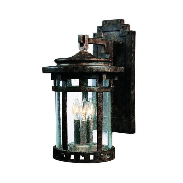 "Almanor 20"" Tall Wall Lantern - Sienna"