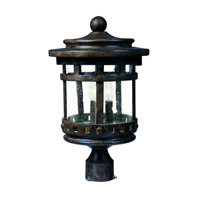 "Almanor 9"" Wide Post Light - Sienna"