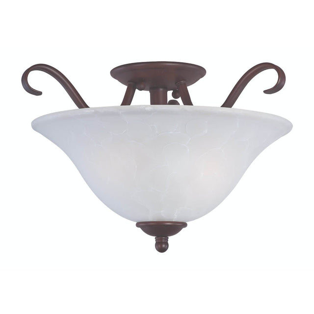 "Bertagna 14"" Wide Semi-Flush Mount"