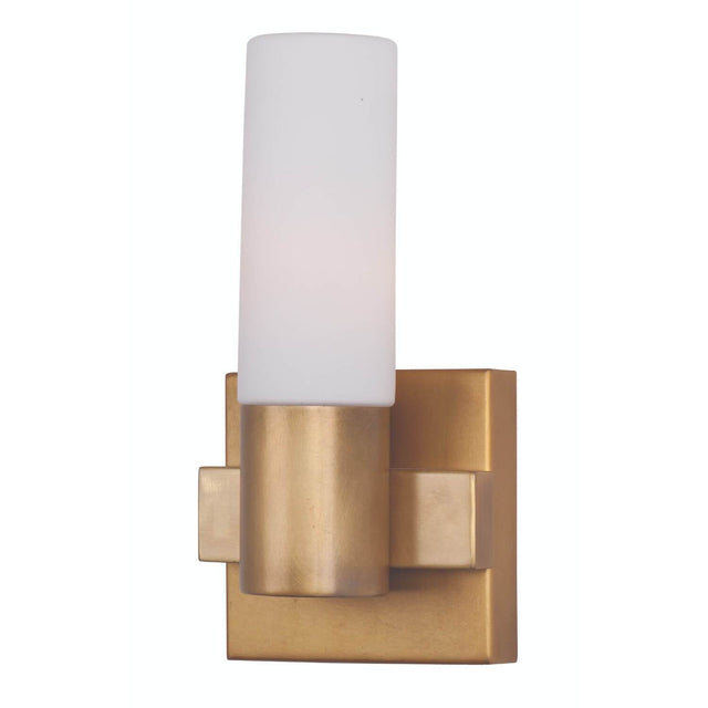 "Brookside 5"" Wide Wall Sconce - Natural Aged Brass"