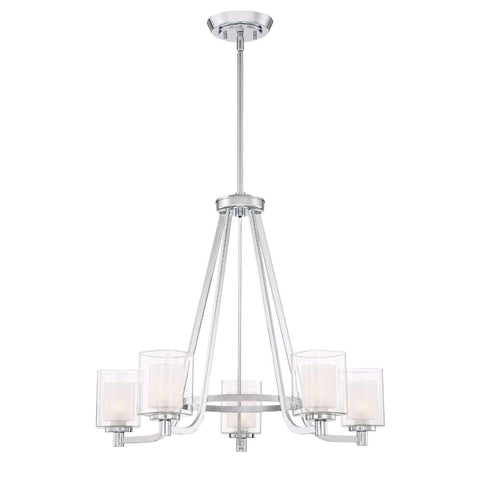 "Esken 26"" Wide Chandelier"