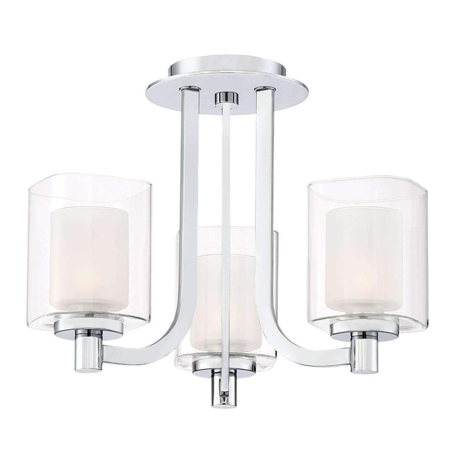 "Esken 15"" Wide Semi-Flush Mount or Pendant"