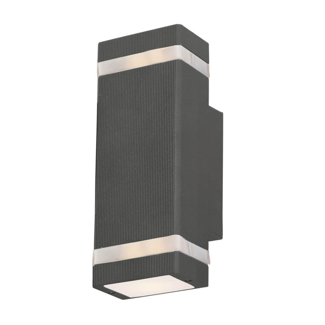 "Flume LED 9.5"" Tall Wall Lantern"