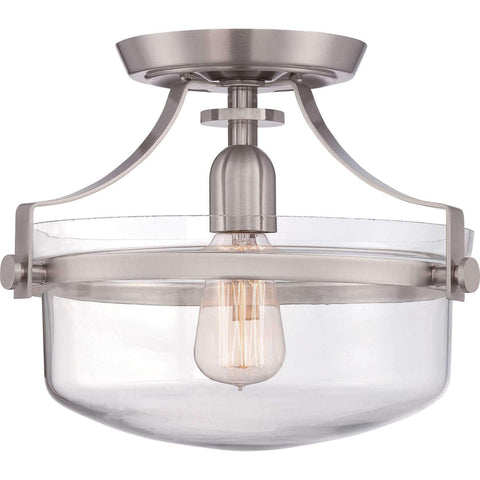 "Langdon 13"" Semi-Flush Mount"