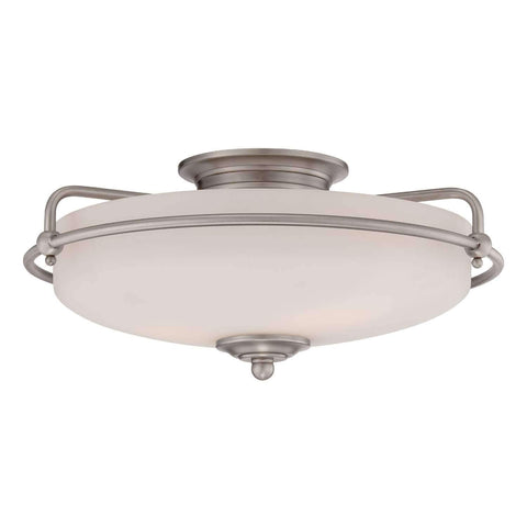 "Meriam 17"" Wide Flush Mount"