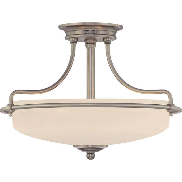 "Meriam 17"" Semi-Flush Mount"