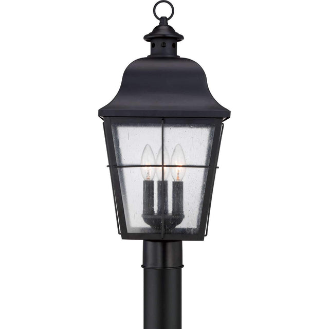 Old Chico 22 Inch Black Outdoor Post Light