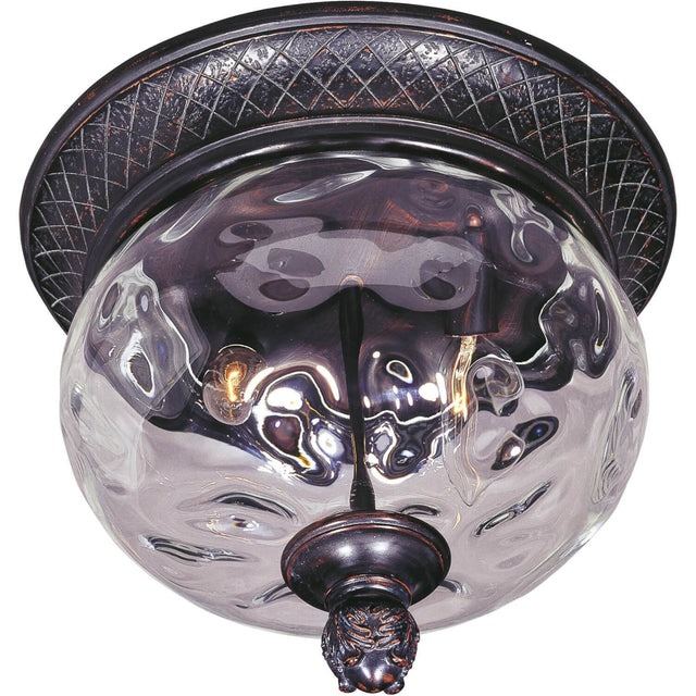 "Woodson Bridge 12"" Wide Outdoor Ceiling Light - Oriental Bronze"