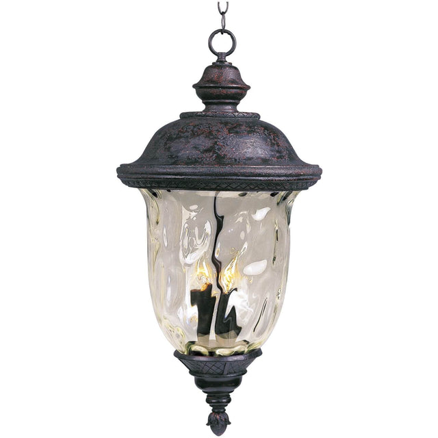 "Woodson Bridge 28"" Tall Outdoor Pendant - Oriental Bronze"