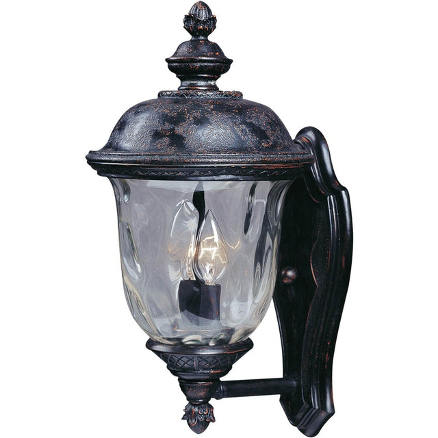 "Woodson Bridge 16"" Tall Wall Lantern - Oriental Bronze"