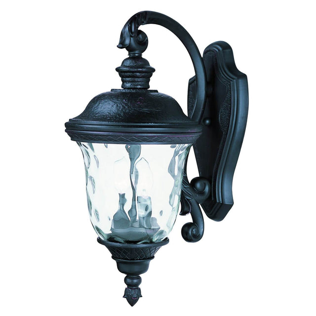 "Woodson Bridge 20"" Tall Wall Lantern - Oriental Bronze"