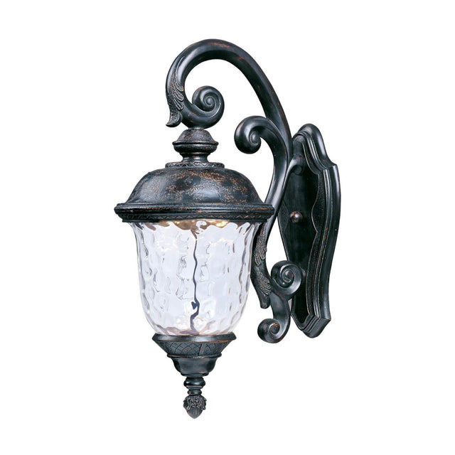 "Woodson Bridge 26.5"" Tall Wall Lantern - Oriental Bronze"