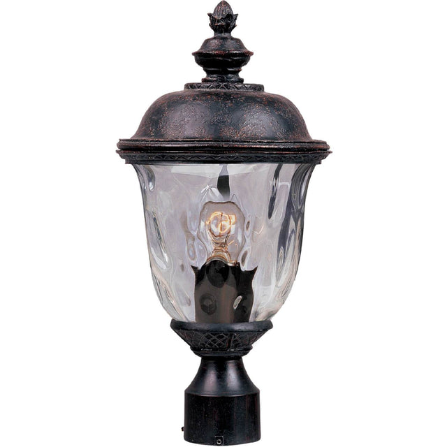"Woodson Bridge 9"" Wide Post Light - Oriental Bronze"