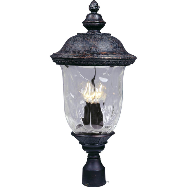 "Woodson Bridge 12.5"" Wide Post Light - Oriental Bronze"