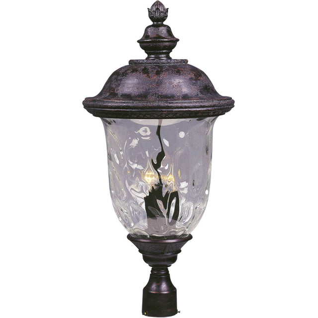 "Woodson Bridge 14"" Wide Post Light - Oriental Bronze"