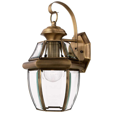 "Yahi 14"" Tall Outdoor Wall Lantern with Clear Beveled Glass"